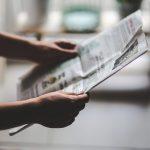 news reading